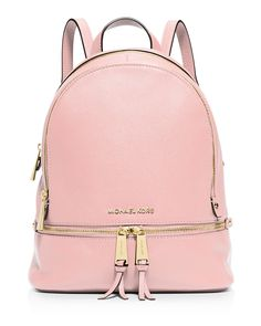 327d4c834 This Michael Michael Kors backpack is a street-wise stunner in sumptuous  leather and zip