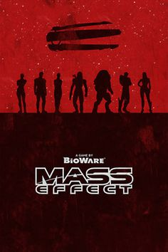 Mass Effect Movie Poster by William Henry