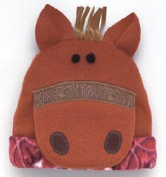 This is a fleece hat.   HOW CUTE!!