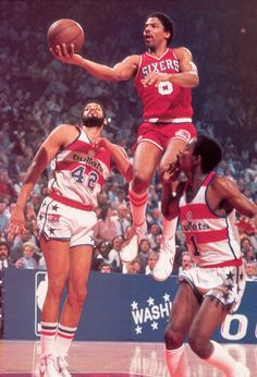 Back in the day,Dr J was the man!!!