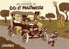 Les Aventures de Tintin - Album Imaginaire - Les Aventures de Coco et Maitwesse