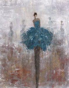 little dancer painting