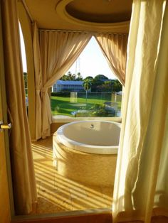 Large open air balcony with private soaking tub at Cheeca