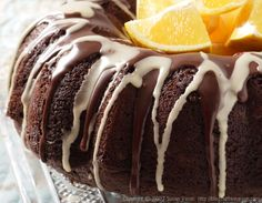 Chocolate-Orange Cake (vegan) - Christmas?