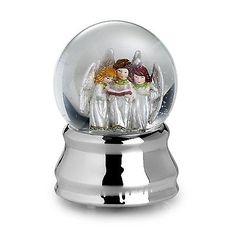 New In Box Towle Angel Choir Musical Snow Globe Water Globe =wow ...