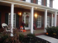 front porch square columns