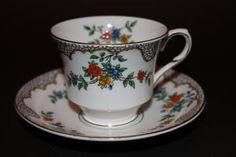 Vintage Duchess E China Teacup and Saucer Set by CraigsTreasures for $20.00