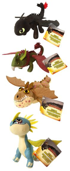 oh my thor! i want them! and its almost here, httyd fans! httyd 2!!!