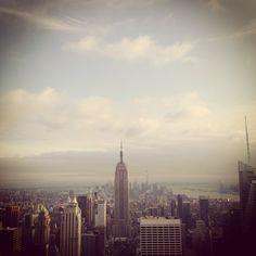 My heart belong to New York.  June 2014