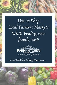 Eating local and shopping the local farmers market has become very important to locally conscious people in communities around the US. But, where do you start? This blog post provides tips on how to shop, why to shop and how you can feed your family fresh, locally grown produce for less than you can at a local grocery chain. Herbal Magic, Buy Local, In Season Produce, Your Family, Farmers Market, The Locals, Herbalism, Clean Eating, Boxes
