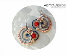 Soutache+Earrings+(Soutage)+Andune+di+AdityaDesign+su+DaWanda.com