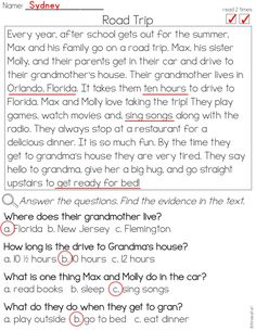 Phonics Reading Passages for Fluency and Comprehension - Fictional Short Stories Phonics Reading, Reading Comprehension Worksheets, Reading Passages, Cause And Effect Worksheets, Reading Levels, After School, Fun Learning, Short Stories, Student