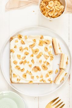 Recipe: Banana Pudding Bars — Easy Dessert Recipes