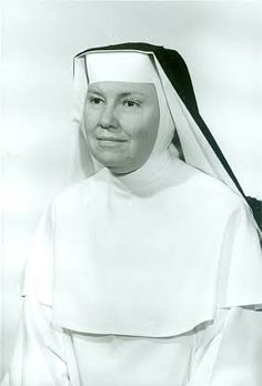"Sister Gregory (1910-2007) taught Drama and Literature at Rosary College (now Dominican University, River Forest, IL). She shared a friendship with Mary Martin and traveled to New York to serve as special consultant to ""The Sound of Music"" on Broadway. She was the inspiration for two songs: ""How Do You Solve a Problem Like Maria"" and ""My Favorite Things."" Richard Rogers called her for prayers for Oscar Hammerstein when he was terminally ill. #NCSW #Catholic #Sister"