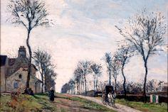 Camille Pissarro, La route de Marly, 1870