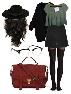 grunge formal by tannaleah ❤ liked on Polyvore featuring HM, Oasis and Abercrombie Fitch