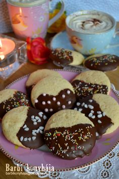 Hungarian Desserts, Hungarian Recipes, Cookie Jars, Cake Cookies, Christmas Cookies, Doughnut, Biscuits, Muffin, Baking