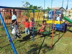 Spielplatz KITA Nkululeko Südafrika Orange Farm
