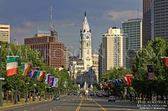 Philadelphia, PA:  Lots of awesome things, like the art museum and soft pretzels. But driving on Broad Street......not so awesome.