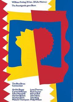 Niklaus Troxler, 1988 - The Avantgarde goes Blues