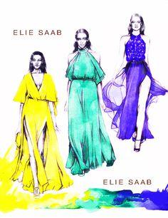 shu84: Karin Fashion Illustrations