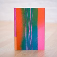 Abstract Lines Journal Vertical by roughdrAft books