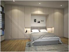 "Explore our internet site for additional information on ""murphy bed ideas space saving"". It is an outstanding place to get more information. Bedroom Bed Design, Home Decor Bedroom, Bedroom Furniture, Master Bedroom, Bedroom Ideas, Trendy Bedroom, Modern Bedroom, Fitted Bedrooms, Balkon Design"