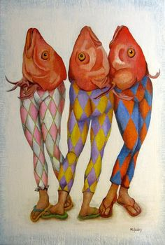 Three Graces of Grand Isle Oil Painting By Michael Guidry M. Guidry is an artist in New Orleans MGUIDRY.COM