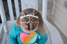 Hairstyle Toddler Girl: Front Flips and Hooks - November 09 2019 at Easy Toddler Hairstyles, Little Girl Hairstyles, Easy Hairstyles, Hairstyle Ideas, Grey Curly Hair, Curly Hair Styles, Updo, Beautiful Baby Girl, Baby Girl Fashion