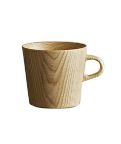 Kami Wood Mug-  This lightweight, wooden cup is surprisingly insulating while the woodgrain exterior makes a distinct piece amidst the sea of traditional ceramic mugs in the cupboard. Hand wash.