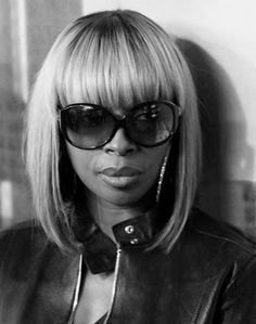 Mary J Blige, I want this wig. -rw