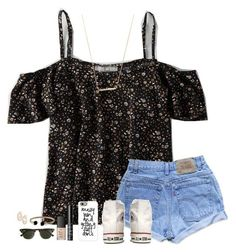 """""""GUY TROUBLE RTD!!!"""" by lindsaygreys ❤ liked on Polyvore featuring American Eagle Outfitters, Levi's, Converse, NARS Cosmetics, David Yurman, Kendra Scott, J.Crew and Casetify"""
