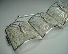 pulso mariposa Joyería Metal