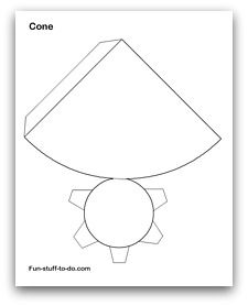 Cone http://www.fun-stuff-to-do.com/printable-shapes.html