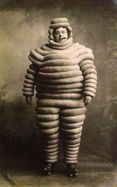 The original Michelin Man c. 1910.