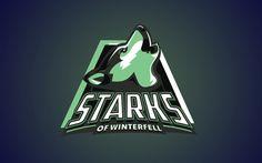 "Logos esportivos das casas nobres de ""Game of Thrones"" » Brainstorm9"