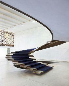 Palácio do Itamaraty.Oscar Niemeyer.    Itamaraty Palace.Brasilia.