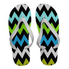Zigzag #13 - Mens Flip Flops