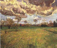 Vincent van Gogh: The Paintings (Landscape Under a Stormy Sky)