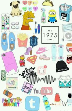 New aesthetic wallpaper laptop collage ideas Tumblr Stickers, Phone Stickers, Diy Stickers, Planner Stickers, Vans Wallpaper, New Wallpaper Iphone, Tumblr Wallpaper, Rainbow Wallpaper, Sticker Printable