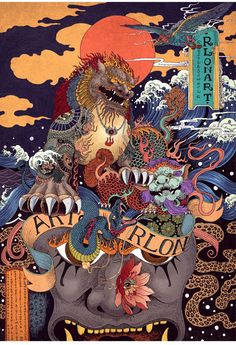 Illustrations by Rlon Wang Rlon Wang is one of the more popular Chinese freelance art designer and illustration artist from Shenzhen. For more check out his website: http://www.rlonart.com/Spice up your timeline by following us on Facebook!posted by Margaret