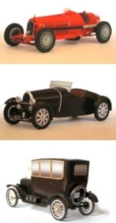Papercraft Models - How to build beautiful paper model cars
