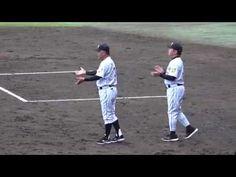2017年9月28日 阪神 今季で退任の 掛布監督 最後のハイタッチ 『お前がもっておけよ! 』  ファーム戦 vs 広島