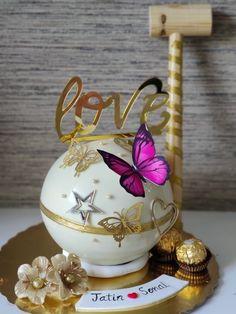 Beautiful Cake Designs, Beautiful Cakes, Cake Decorating Techniques, Cake Decorating Tips, Congratulations Cake, Doctor Cake, Pinata Cake, Cupcake Shops, Chocolate Hearts