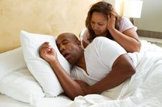 Tips on how to end your lover's snoring habit.