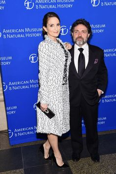 Pin for Later: The Style Crowd Makes This the Most Fashionable Night at the Museum The Host and Her Hubby Welcomed Guests Tina Fey and her husband, Jeff Richmond.
