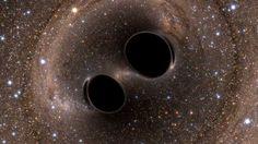 Descobertas abrem novas perspectivas para o estudo do Universo. Projeto de colaboração internacional teve apoio da FAPESP (imagem: LIGO)