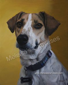 """""""Marnie"""" by Melissa Peters. Oil on canvas. 20x16in. 2015."""