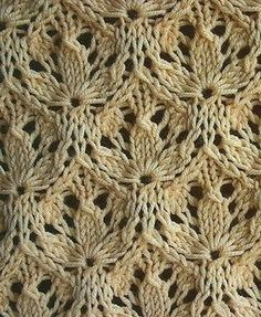 The original pattern with needles