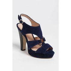 Sole Society 'Evelyn' Sandal ($60) via Polyvore